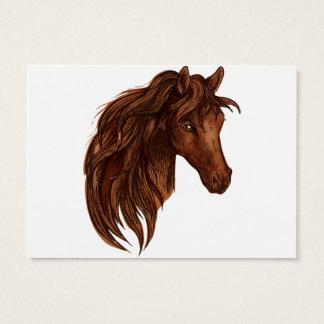 De Sport van het Paard van paarden Visitekaartjes