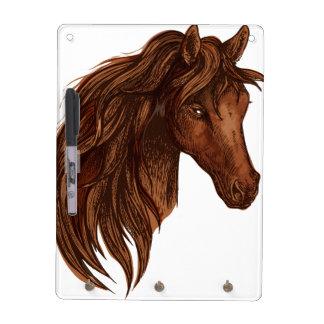 De Sport van het Paard van paarden Whiteboards