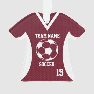 De Sporten Jersey van het voetbal Kastanjebruin