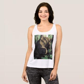 De sportoverhemd van tyrannosaurussen tanktop