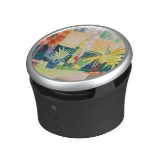 """De spreker van de Kunst van de """"tuin op Thun van Bluetooth Speaker"""