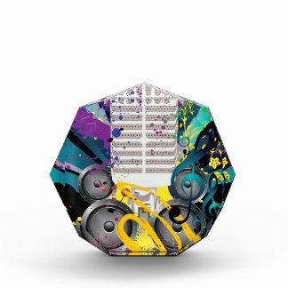 De Spreker van Grunge en Microphone3 Acryl Prijs