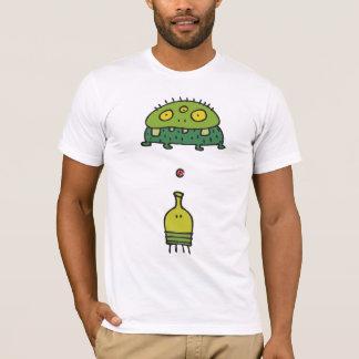 De Sprong Hubba van de krabbel steekt Monster uit T Shirt