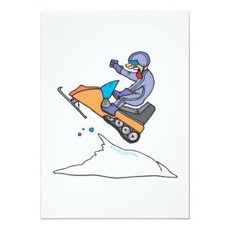 De Sprong van Snowmobiling Kaart