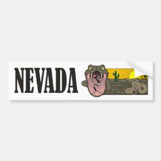 De Staat van de slang van Nevada de V.S.: Bumpersticker