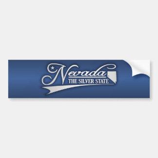 De Staat van Nevada van Mijn Bumpersticker