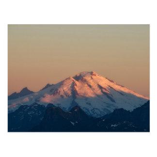 De Staat van Washington, de Cascades van het Briefkaart