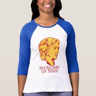 De Staatssecretaris van Hillary Clinton T Shirt