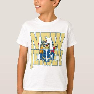 De staatsvlag van New Jersey T Shirt