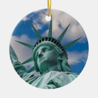 De Stad 2012 van New York Rond Keramisch Ornament