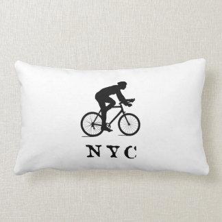 De Stad die van New York NYC cirkelen Lumbar Kussen