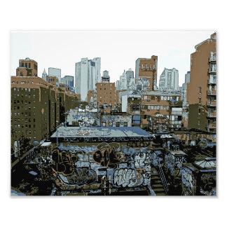 De Stad Graffiti van New York Foto