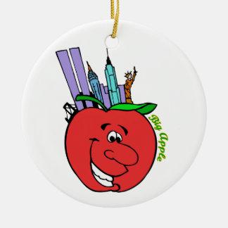 De Stad Groot Apple van New York Kerstboom Ornamenten