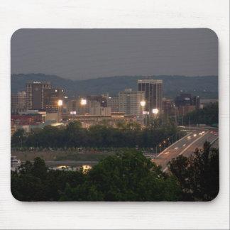 De stad Mousepad van Chattanooga Muismatten