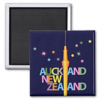 De Stad Nieuw Zeeland van Auckland Magneet