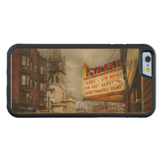 De stad - NY van Amsterdam - het Leven begint met Esdoorn iPhone 6 Bumper Hoesje