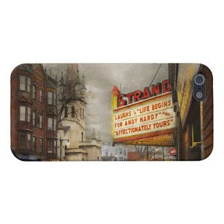 De stad - NY van Amsterdam - het Leven begint met iPhone 5 Hoesjes