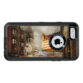 De stad - NY van Amsterdam - het Leven begint met OtterBox Defender iPhone Hoesje