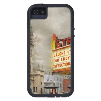 De stad - NY van Amsterdam - het Leven begint met Tough Xtreme iPhone 5 Hoesje