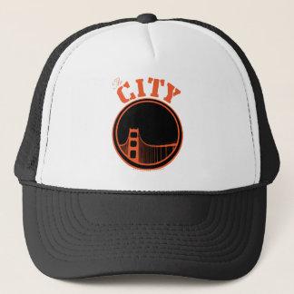 De stad - Sinaasappel Trucker Pet