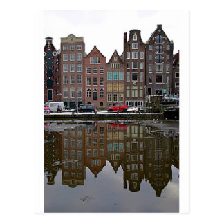 De stad van Amsterdam Briefkaart