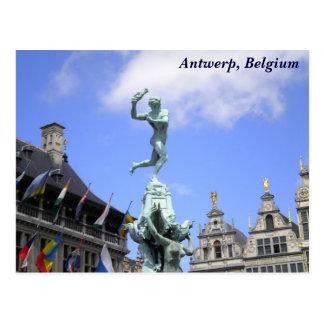 De Stad van Antwerpen Briefkaart