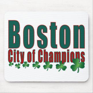 De Stad van Boston van Kampioenen Muismat