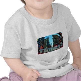 De Stad van Broadway New York van het Times Shirts