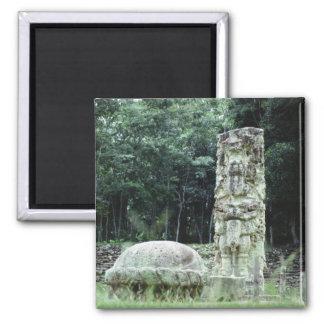De stad van Copan Mayan ruïneert Foto Ontworpen Magneet