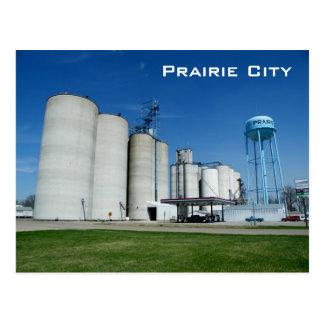 De Stad van de prairie Briefkaart