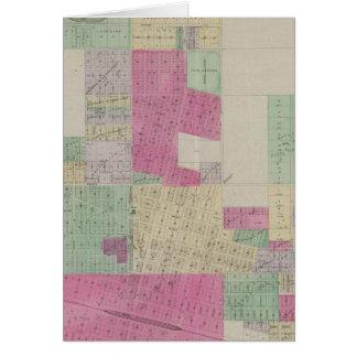 De Stad van de tuin, Finney Provincie, Kansas Wenskaart