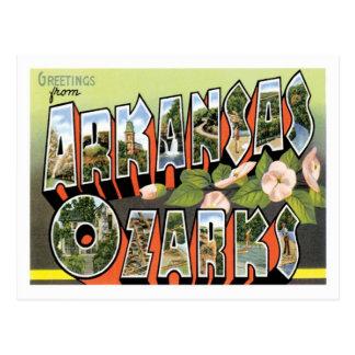 De Stad van de V.S. van de Reis van Arkansas van Briefkaart