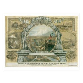 De stad van het Imperium, New York Briefkaart