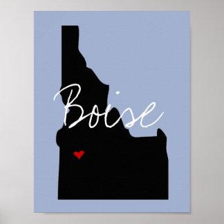 De Stad van Idaho Poster