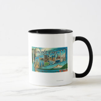 De Stad van Lincoln, Oregon - de Grote Scènes van Mok