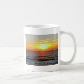 De Stad van Lincoln, Oregon - Zonsondergang Koffiemok
