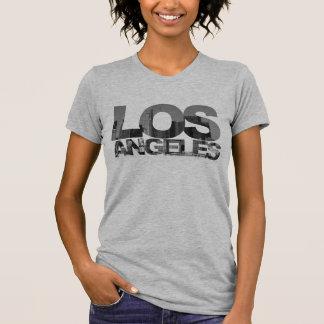 De Stad van Los Angeles (het Knippen de Tekst van T Shirt