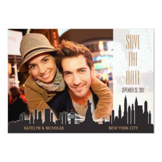 De Stad van New York bewaart de Datum Kaart