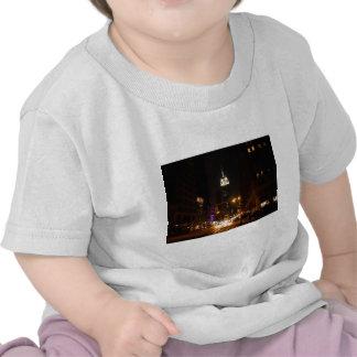 De Stad van New York bij Nacht T Shirt