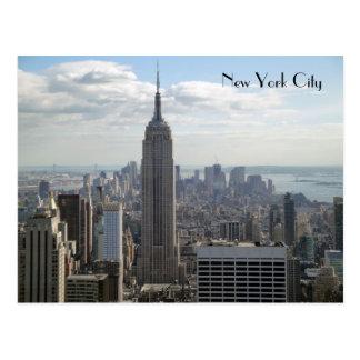 De Stad van New York Briefkaart