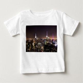 De Stad van New York (de bouw van de Staat van het Tshirt