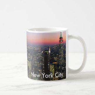 De Stad van New York - de Mok van de Koffie