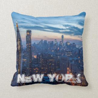 De Stad van New York, NY, de V.S. Sierkussen