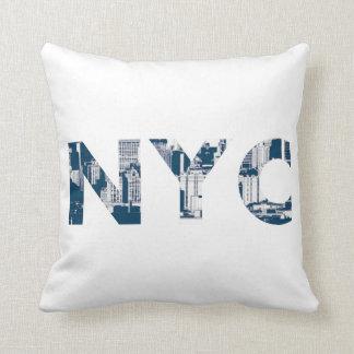 De Stad van New York Sierkussen
