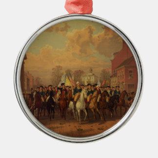 De Stad van New York van de Ingang van Washington  Kerst Ornament
