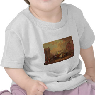 De Stad van New York van de Ingang van Washington T Shirts