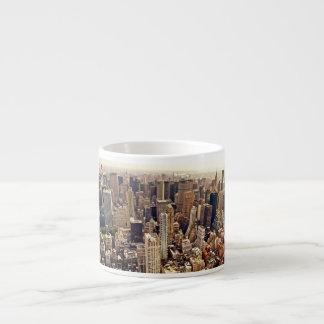 De Stad van New York van hierboven Espresso Kop