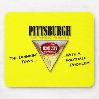 De Stad van Pittsburgh Drinkin met een Probleem va Muismat
