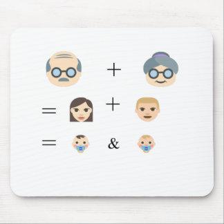 De Stamboom van Emoji Muismatten