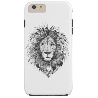 De stammen Dekking van de Telefoon van de Leeuw Tough iPhone 6 Plus Hoesje